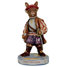 ROYAL DOULTON BUNNYKINS VASCO DA GAMA DB413 LIMITED EDITION AND BOXED