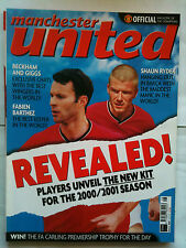 No 92 Manchester United Official Magazine August 2000