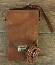 POLAROID  SX-70 Land Camera Case Only Brown Ranchhyde NOS