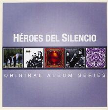 HEROES DEL SILENCIO - ORIGINAL ALBUM SERIES 5 CD NEW+