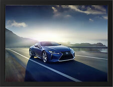 2016 LEXUS LC500H COUPE NEW A3 FRAMED PHOTOGRAPHIC PRINT POSTER
