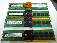 Samsung M395T5750CZD-CD500 4GB 4x 1GB DDR2 533MHz PC2-4200F FB ECC Server RAM