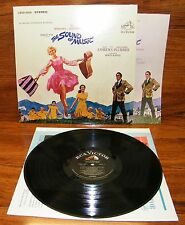 The Sound of Music Julie Andrews (LSOD-2005) Original Soundtrack Record Album!
