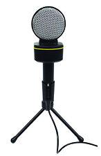 digitales Kondensator Mikrofon 3,5mm Klinke Ständer Mac PC G158PCC