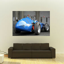 Poster of Maserati Vintage F1 Grand Prix Giant HD Huge 54x36 Inch Print 137x91