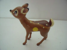 "6"" vintage PLASTIC BAMBI FIGURE WITH MOVEABLE HEAD - COLLECTABLE"