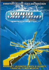 Animation Factory DVD Video Backgrounds Vol 1 Clips presentations projects