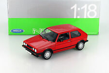 Volkswagen VW Golf I GTI rot 1:18 Welly