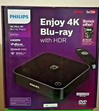 NEW Philips 4K Ultra HD Blu-ray Player With HDR  BDP7501/F7 SEALED + Creed Disc