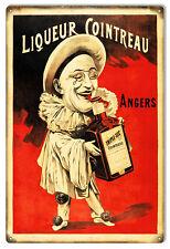 Nostalgic Liqueur Cointreau Angers Bar Sign 12X18
