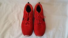 Nike Flyknit Lunar1+ Mens Size 14 Gym Red Lunar One Rare HTF Shoes 554887-601