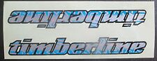 "Set of 2 (6 1/2"" In) GT TIMBERLINE Frame/Forks? /Decal Stickers BLUE/GRAY/SILVER"