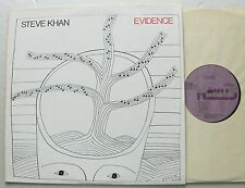 Steve KHAN Evidence USA LP ARISTA NOVUS - Art cover: FOLON - EX+