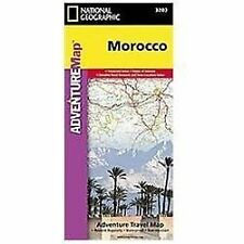 National Geographic Adventure Map: Morocco 3203 by National Geographic Maps...