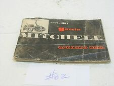 Garcia Mitchell 300 301 Original PARTS and SERVICE manual FRANCE made  COLLECTOR