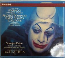 Leoncavallo: Pagliacci / Domingo (CD, 1985, Philips, W Germany 1st Ed)