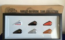 "HARLEY-DAVIDSON 2015 COLLECTIBLE ""GAS TANKS"" SHADOWBOX ORNAMENTS NEW IN BOX"