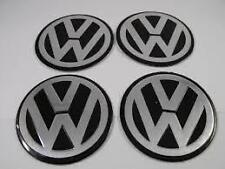 VW Alloy Wheel Centre Cap Stickers Badges Convex 90mm Set of 4
