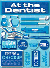 Reminisce AT THE DENTIST Dimensional 3D Stickers Scrapbooking Paper Crafts