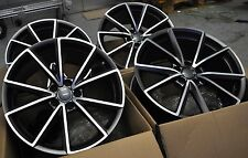 "19"" S-LINE STYLE WHEELS RIMS FIT VW GOLF MK5 MK6 MK7 JETTA A3 S3 Q3 TT 5477"