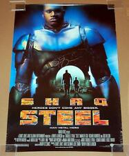 STEEL AUTOGRAPHED 40x27 ROLLED O/S MOVIE POSTER - SIGNED BY SHAQUILLE O'NEAL
