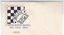 BUSTA IMPERIA 1970 V MOSTRA MARCOFILIA SCACCHISTICA CIRCOLO FILATELICO 4-47