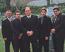 Las Sopranos James Gandolfini Mostrar Funeraria 10x8 Foto