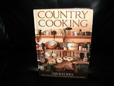 Country Cooking : 2,151 Recipes from the Readers of Harrowsmith Magazine by...