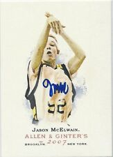 JASON MCELWAIN Signed Ginter Card J-MAC New York Basketball Autism