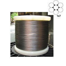 0.3mm 1x7 Stainless Steel Cable Wire Rope ( 100feet)