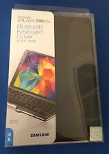 """Authentic Samsung Galaxy Tab S Bluetooth Keyboard Cover for 8.4"""" -Charcoal Black"""