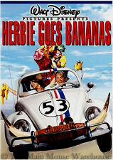 Mexico Brazil Cruise Comedy VW Love Bug Beetle Sequel Herbie Goes Bananas on DVD