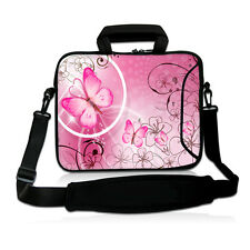 "Pink Laptop Sleeve Case Shoulder Bag For 15.6"" HP ASUS 15.5"" Sony Vaio E Series"
