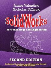 SOLIDWORKS FOR TECHNOLOGY AND - NICHOLAS DIZINNO JAMES VALENTINO (PAPERBACK) NEW