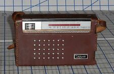 Vintage Lafayette KR-82 AM/Shortwave Transistor Radio 1960s Japan Works VG