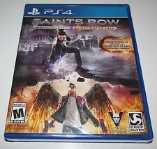 Saints Row IV Re-Elected & Gat Out of Hell for Playstation 4 Factory Sealed!