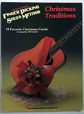 WILL SCHMID Christmas Traditions Finger Picking Solos HAL LEONARD book