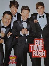 BIG TIME RUSH - A4 Poster (ca. 20 x 27 cm) - Fan Sammlung Clippings Ausland USA