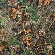 TRUE TIMBER MIXED PINE CAMOUFLAGE FABRIC MATERIAL, From Springs Creative NEW