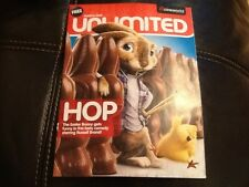 PROMOTIONAL MAGAZINE U.K. CINEMAS CINEWORLD MARCH 2011 HOP . BATTLE LOS ANGELES