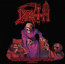 DEATH - Patch Aufnäher - Scream bloody gore 10x10cm