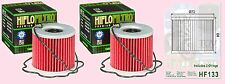 2x HF133 Oil Filter for Suzuki GS GS500 all models   1988 to 2010