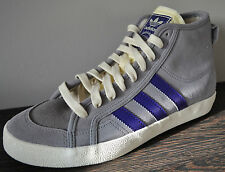 Adidas Originals Ladies Honey Mid Trainer G64243 Grey/Purple EU 40 2/3 UK 7