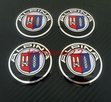 Alloy Tyre Wheel Center Hub Cap Rims Alpina Emblem Badge Stickers t#422