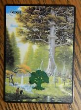 Magic the Gathering Mtg Altered Art LoTR Lord of the Rings Lothlorien Forest