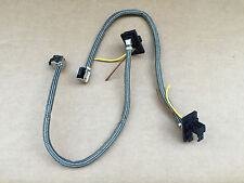 2x OEM! BMW D1S Xenon Ballast PLUG CONNECTOR WIRING HARNESS WIRE CORD PIG TAIL