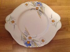 Paragon Handpainted Cake Plate Pattern No. x2716. 1st Quality 1933.