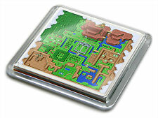 ZELDA LINKS AWAKENING WORLD MAP SNES Game Novelty Gift Quality Drink Mug Coaster