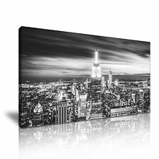 New York City Empire State Building Canvas Wall Art Picture Print 60x30cm
