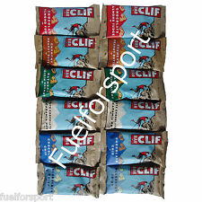 12 x Clif uk Energy bars trial pack mixed flavours Wow Contains 6 Flavours cliff